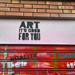 C'est vrai que l'Art est bon pour nous !