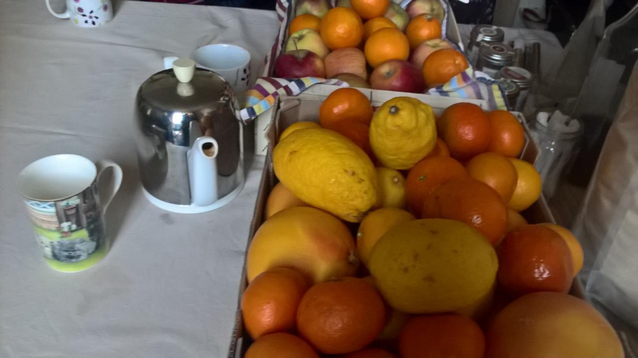Fruits et thé ! Duo parfait pour un atelier !