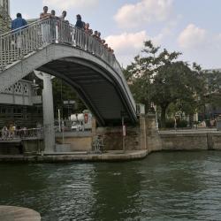 Bel endroit pour se détendre le canal de l'Ourcq