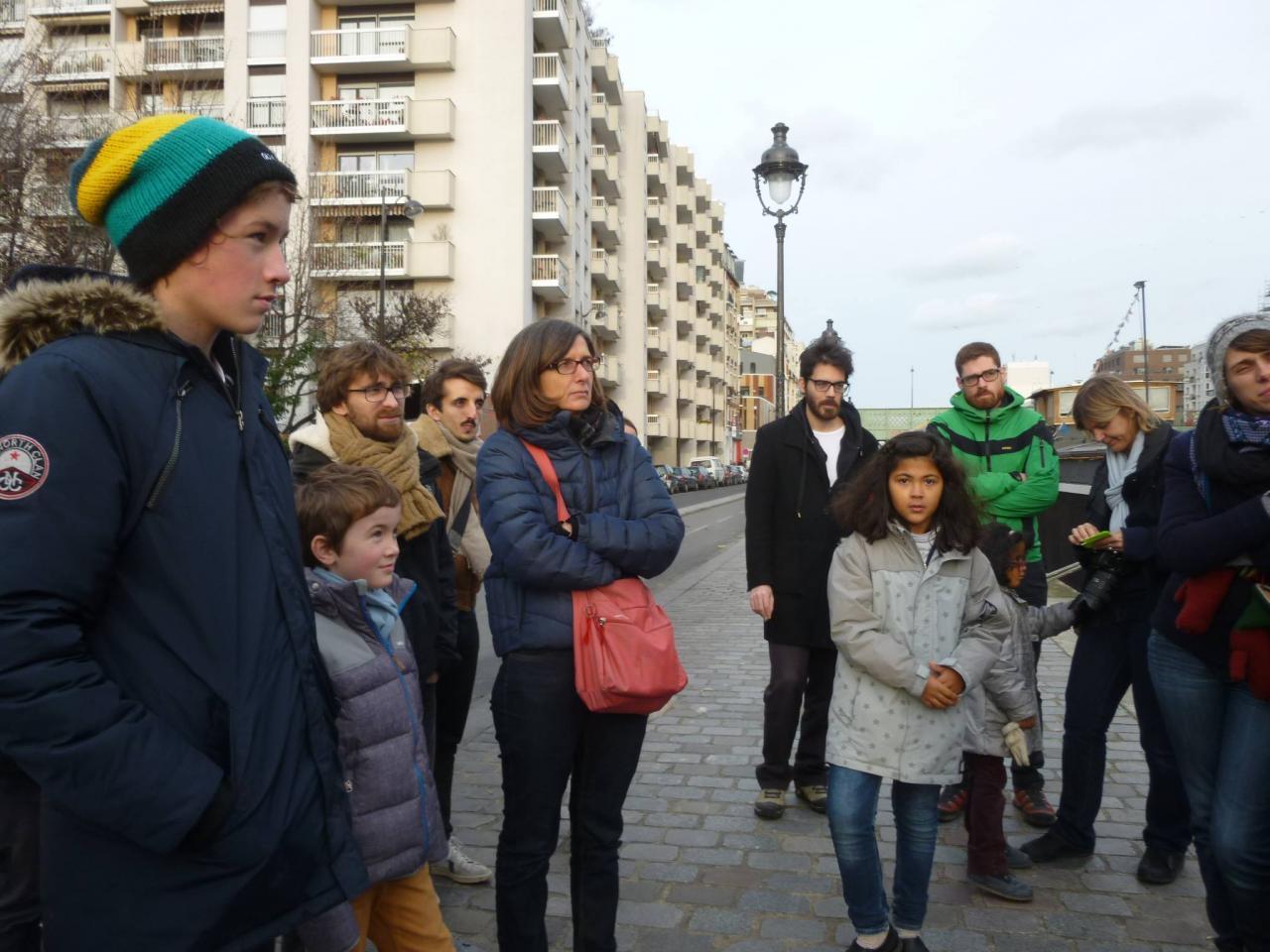 Balade COP 21 - L'eau et les rêves - Paris 28/11/2015