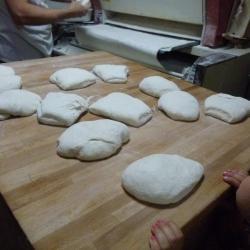Les boules de pâte à pain
