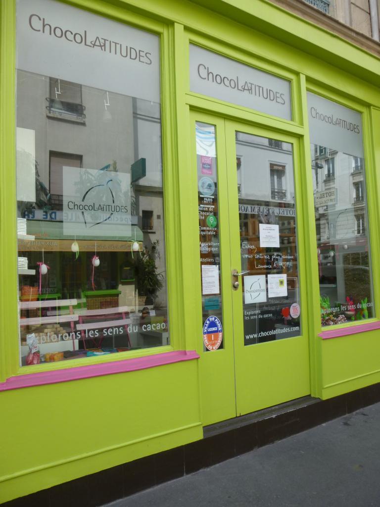 Venez discuter avec Laurence du cacao