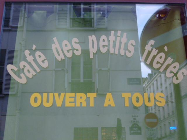 Visite-rencontre au Café des Petits Frères avec Sylvie 13/02/2015