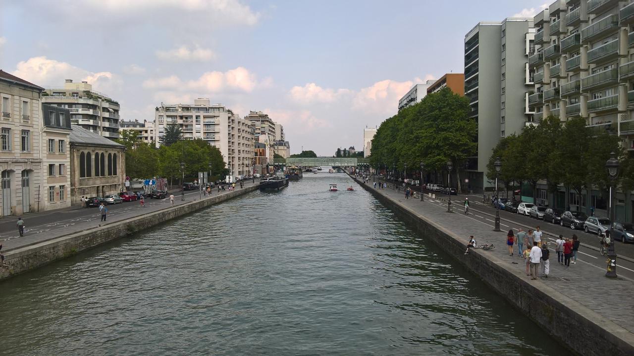 Super vue du canal