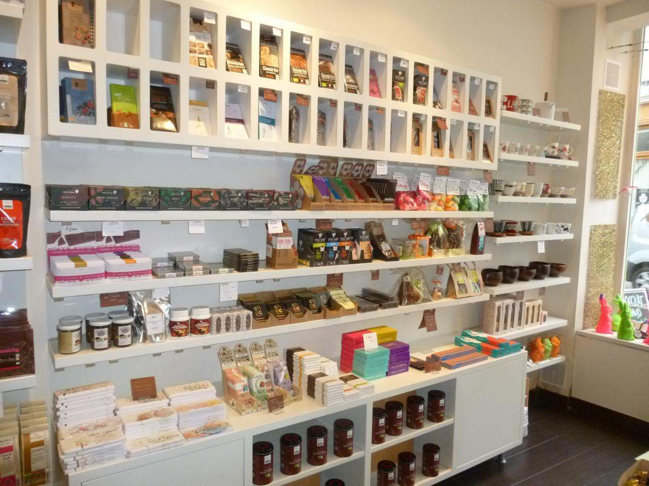 Intérieur de la boutique ChocoLatitudes