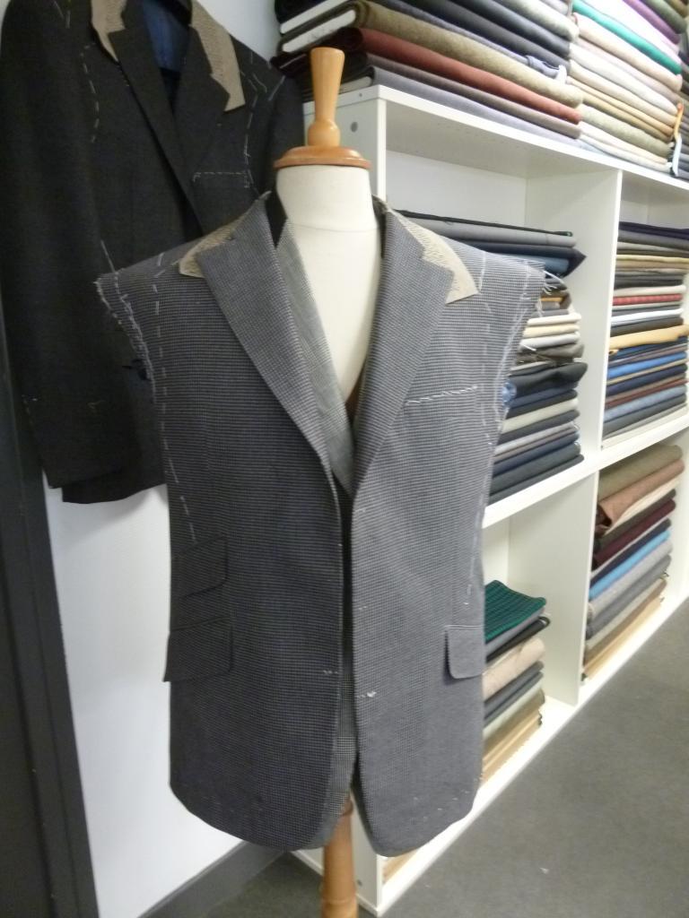 Costume à l'Association Formation Tailleur