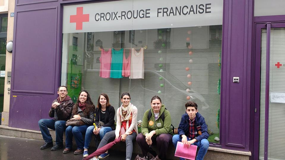 Merci à la Croix Rouge pour tout son travail