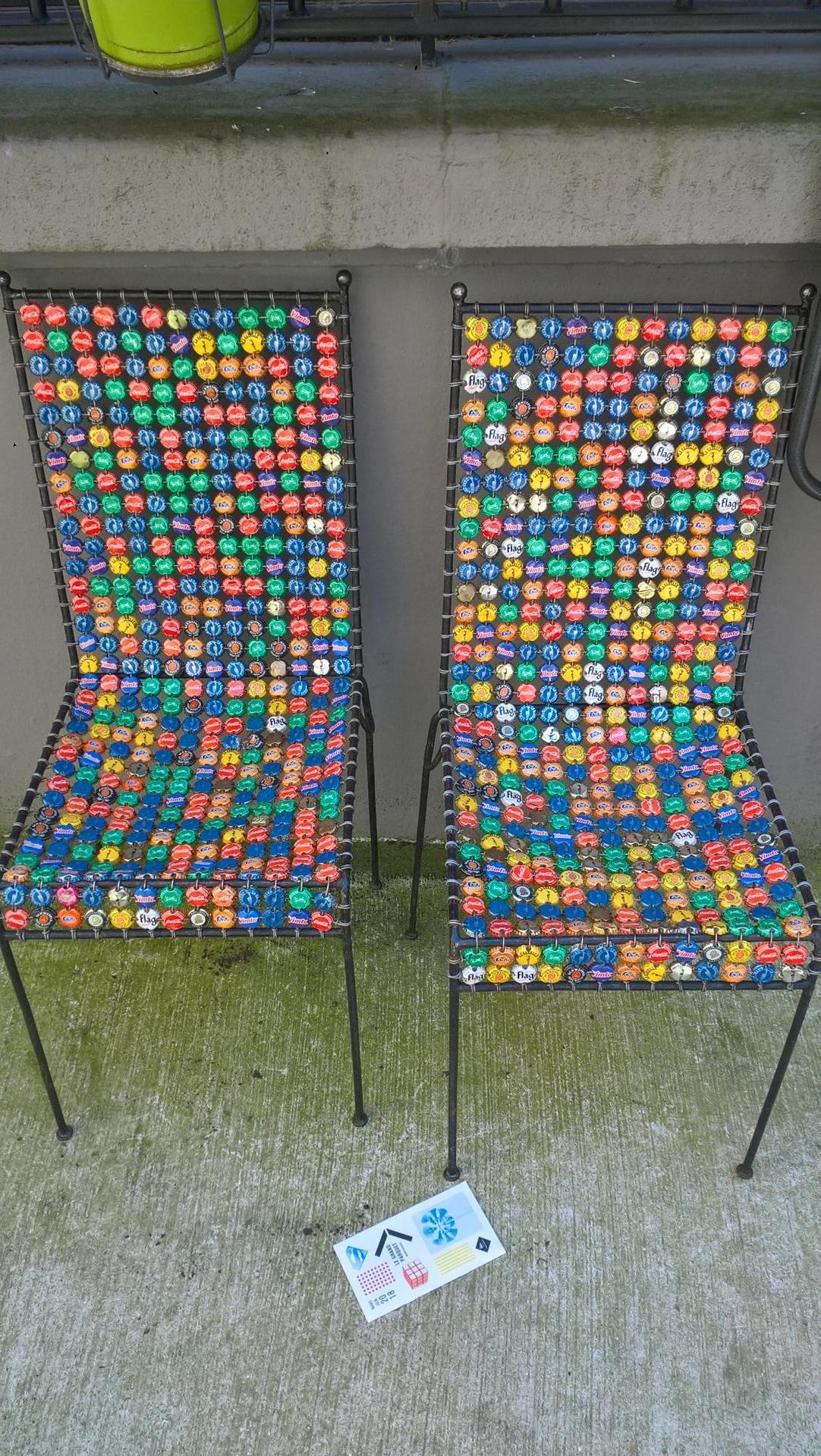 Sympa ce style de chaises !