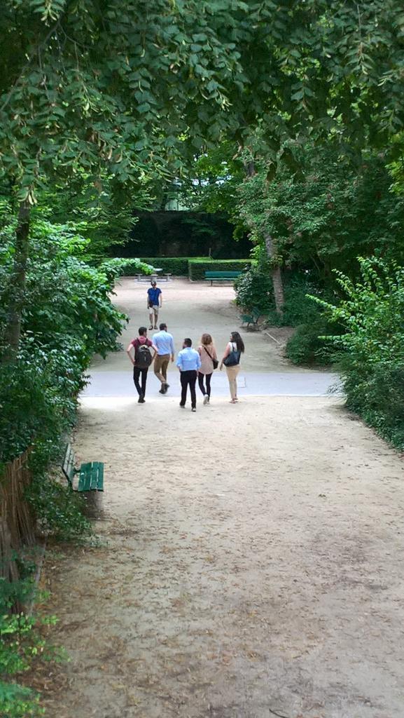 Square René Le Gall : lieu des défis sportifs !