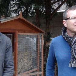 2 passionnés de compostage: Damien & Oumar