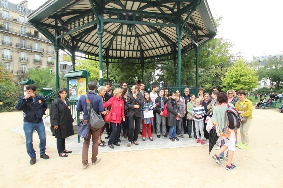 Inauguration jeu de piste du 3ème arrondissement 17/09/2016