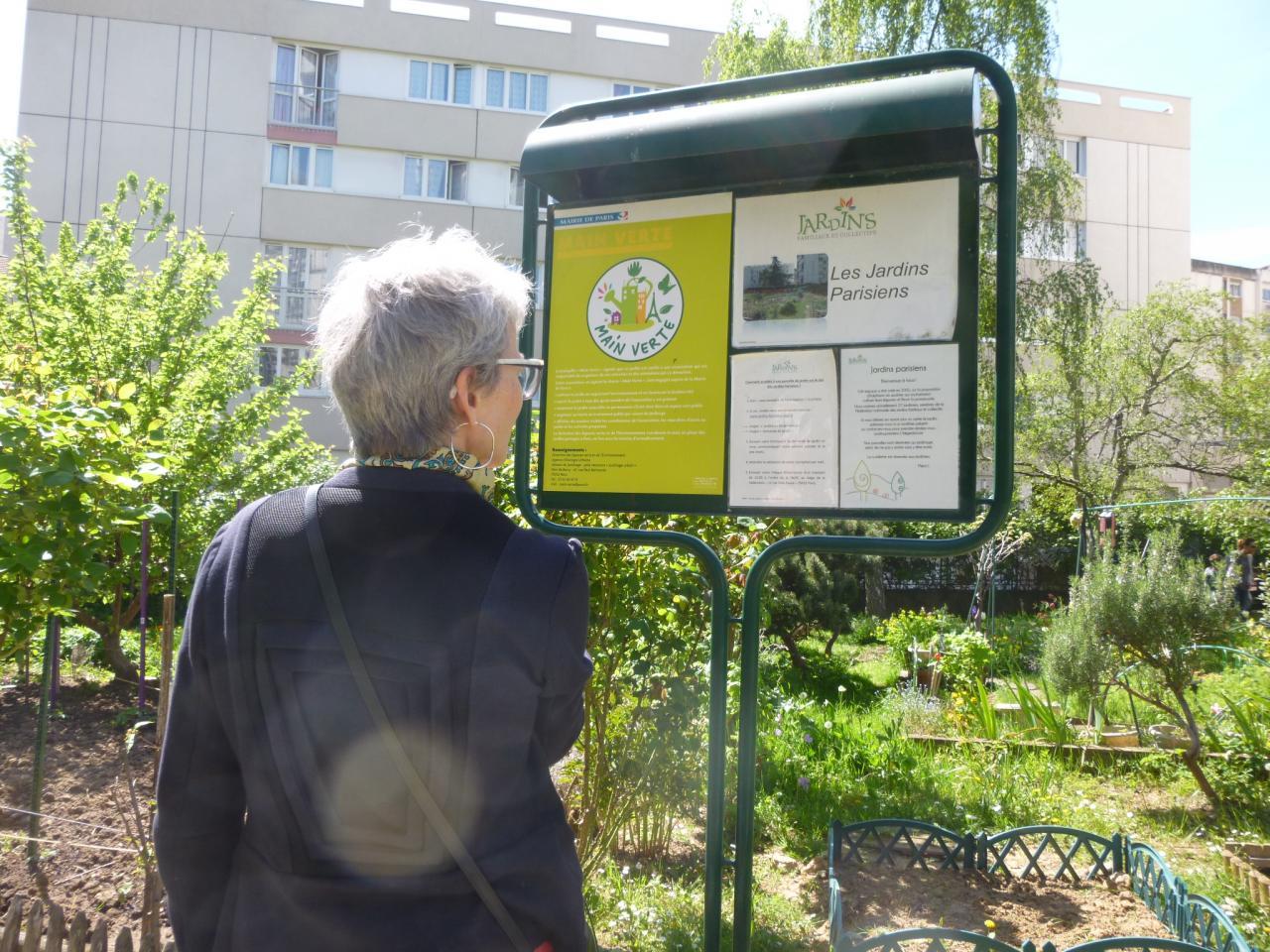 Découverte des jardins de Paris