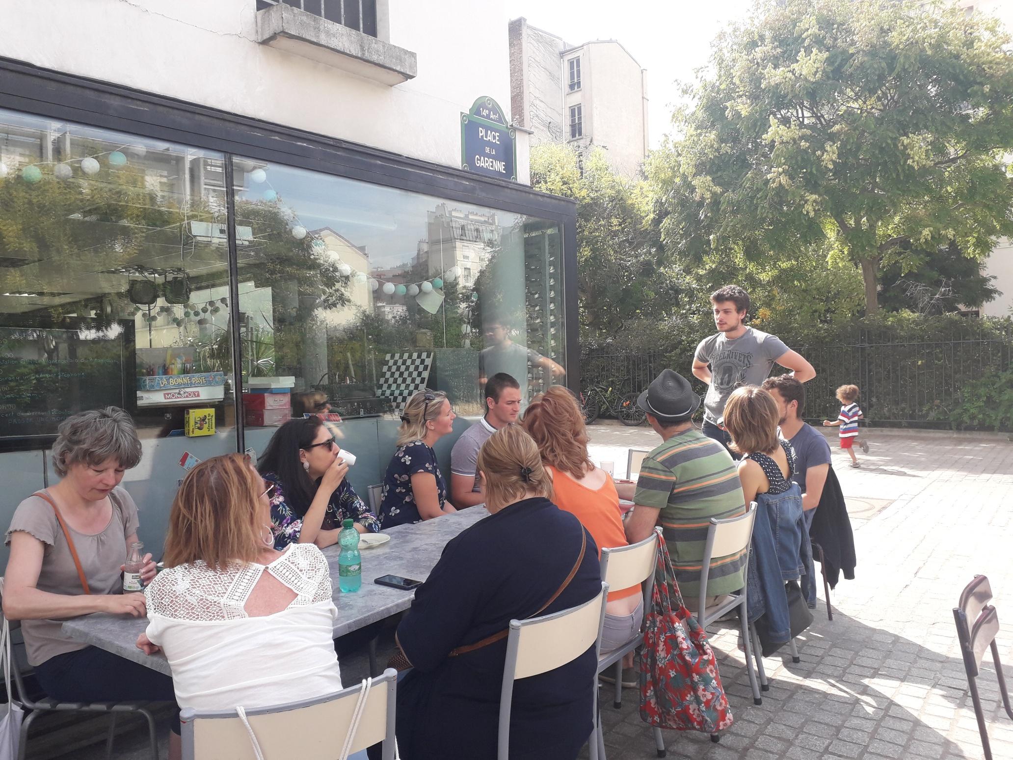 Pause finale bien méritée au Moulin à Café !