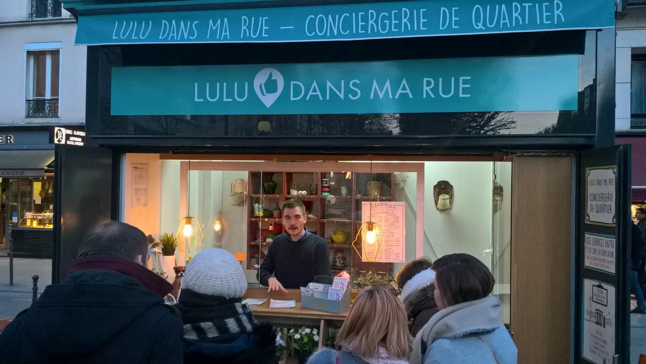 """Présentation personnalisée de """" Lulu dans ma rue """""""
