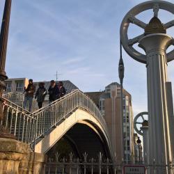 Et oui, il y a aussi un pont levant à Paris !