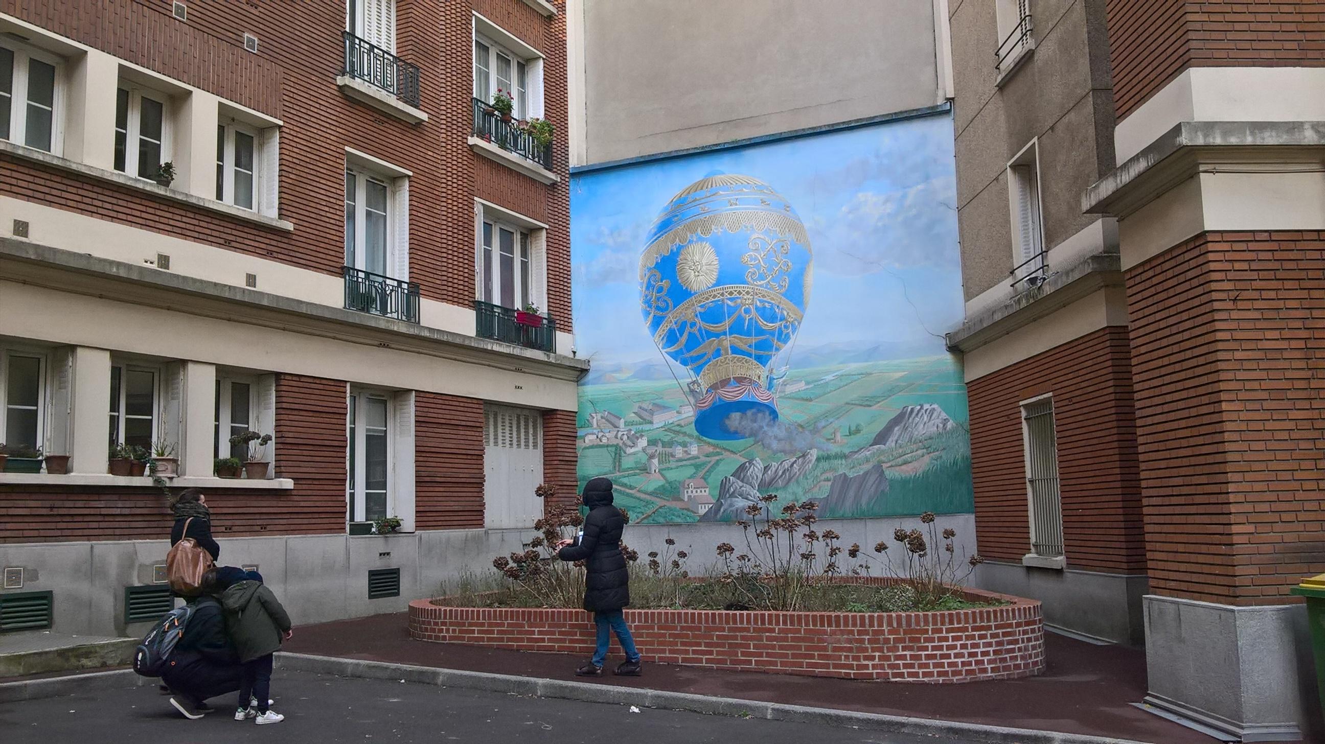 La Montgolfière fait partie de l'histoire du quartier !