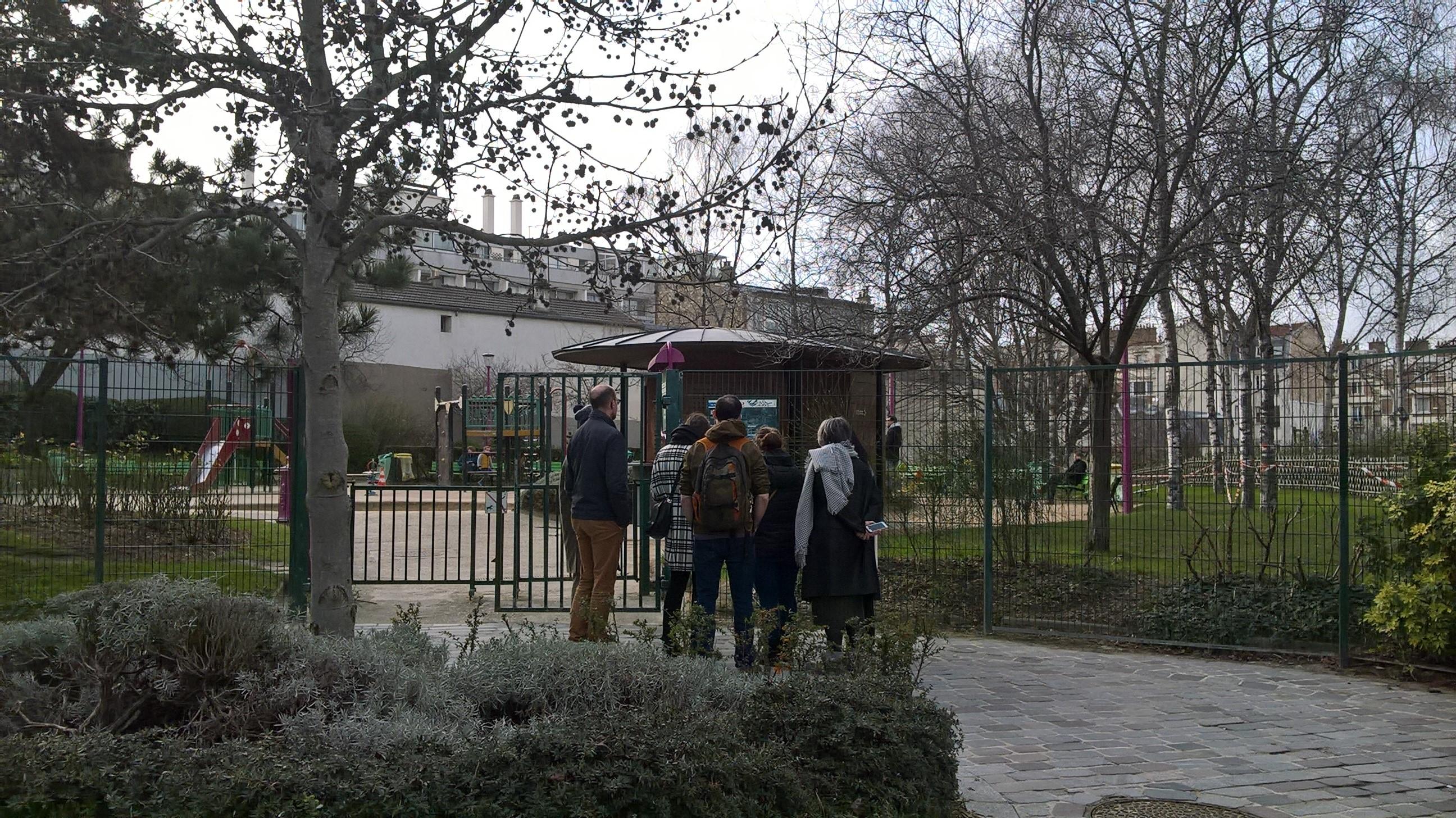 Au sommet de la butte, le parc Brassaï !