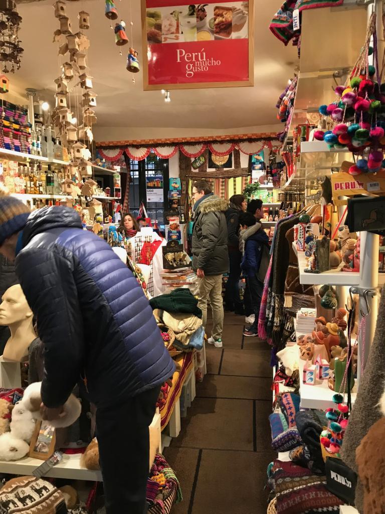 Le Pérou concentré en une boutique !
