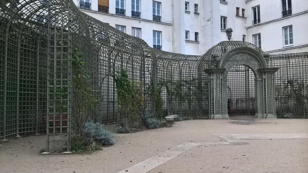 Super écrin de verdure au milieu de Paris