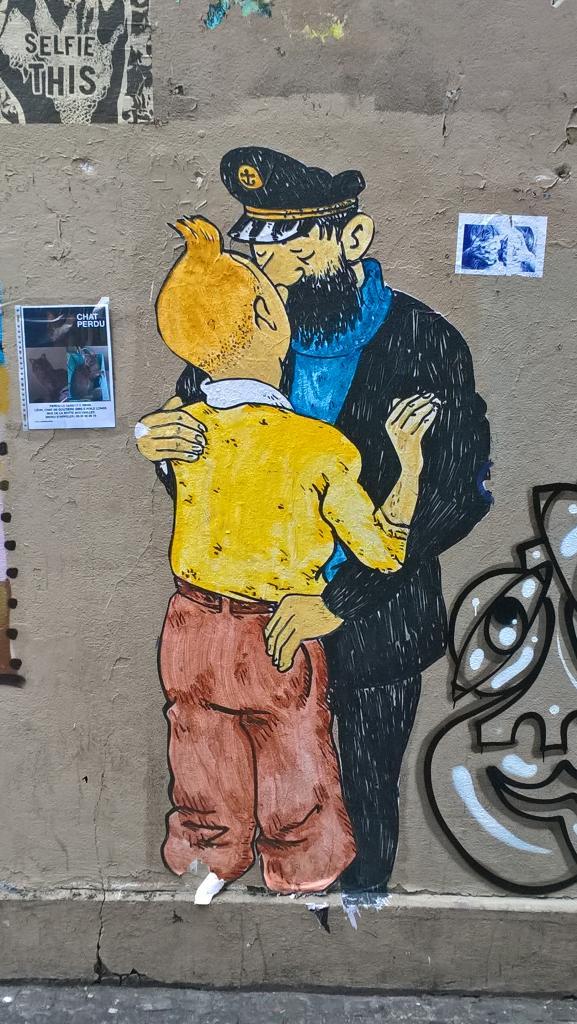 Nouvelle aventure de Tintin ?
