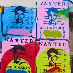 Le street art est partout, notamment dans le 13eme