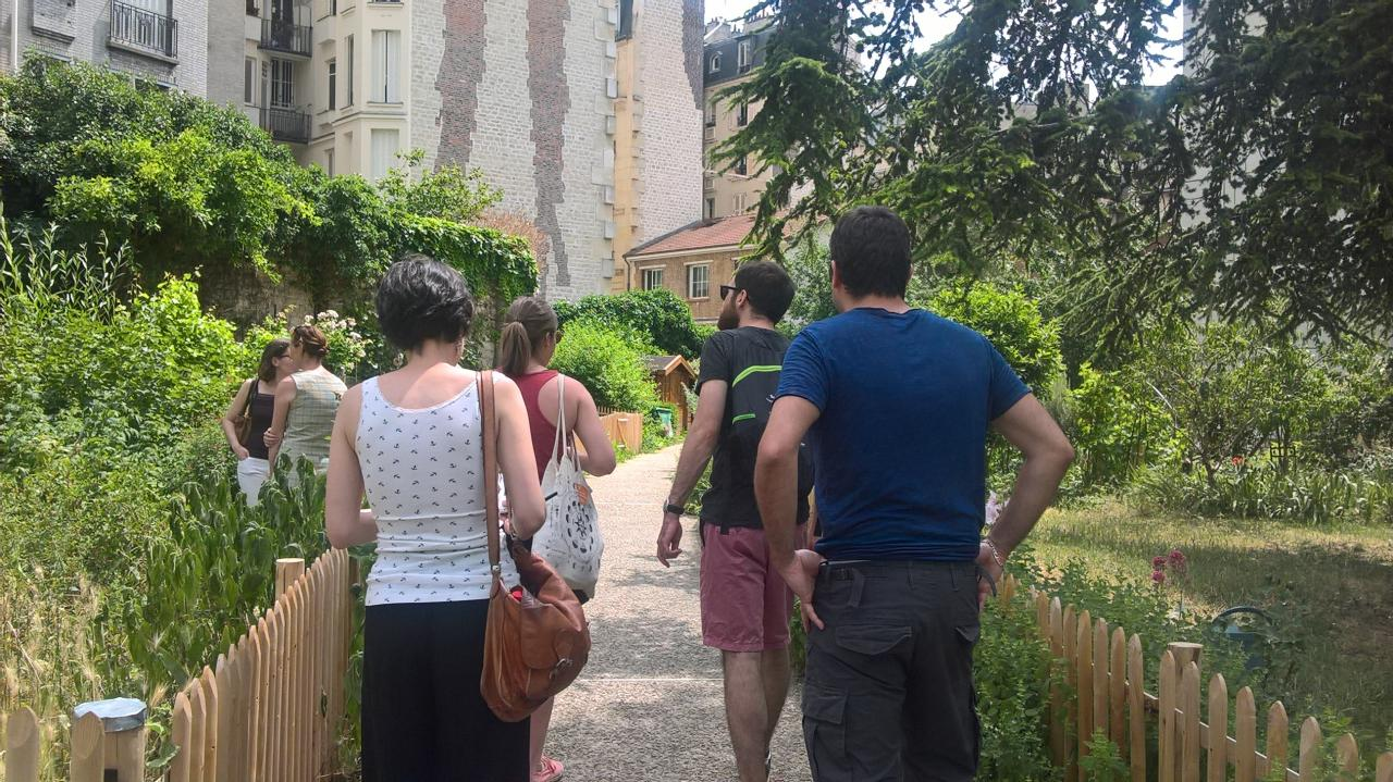 Découverte des jardins partagés de Paris !
