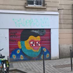 Mais il y a aussi du streetart dans le 20e !