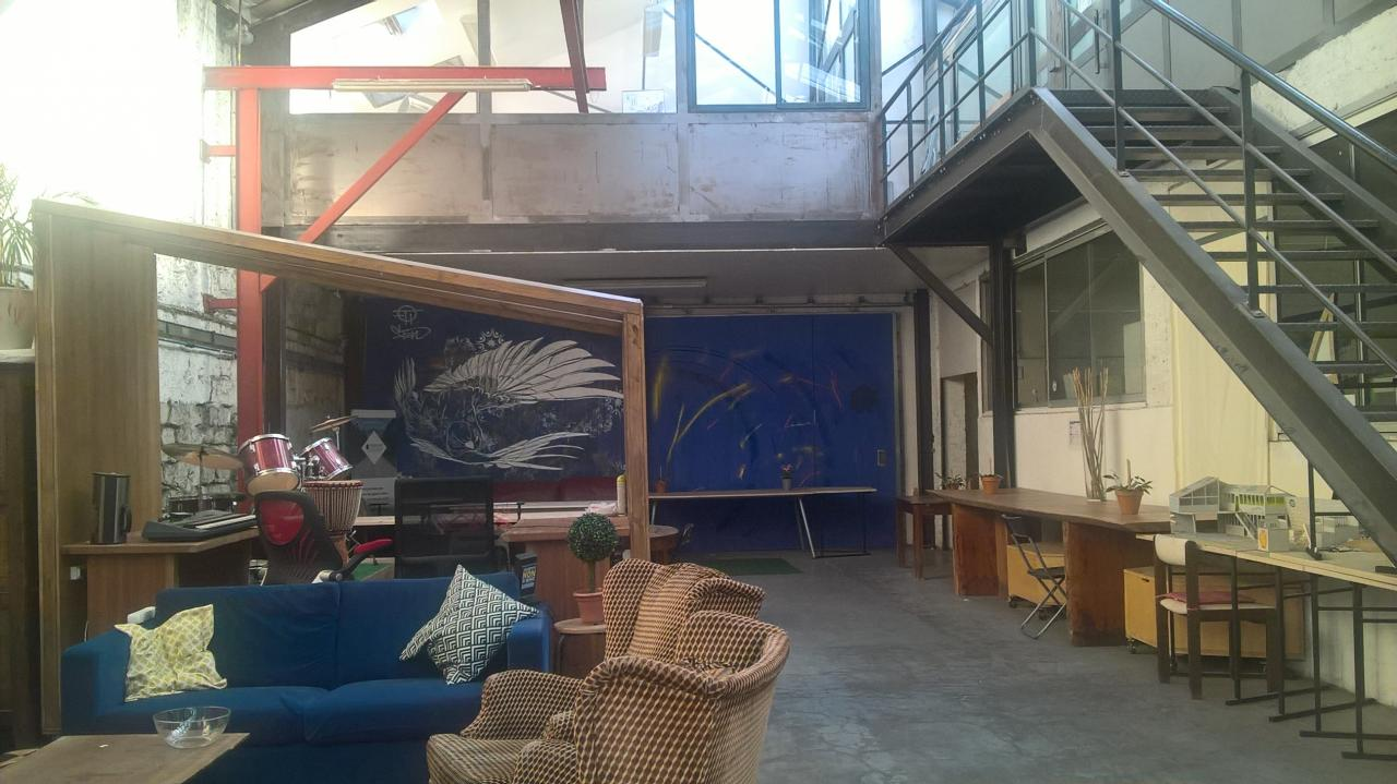 Super découverte que cet atelier d'artistes !