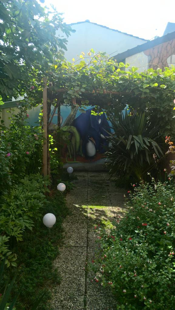 Et ça, c'est dans un jardin privé !