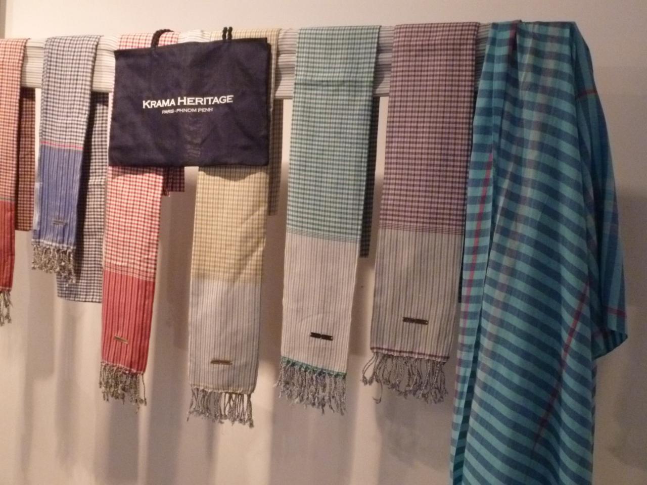 Les foulards Krama Heritage
