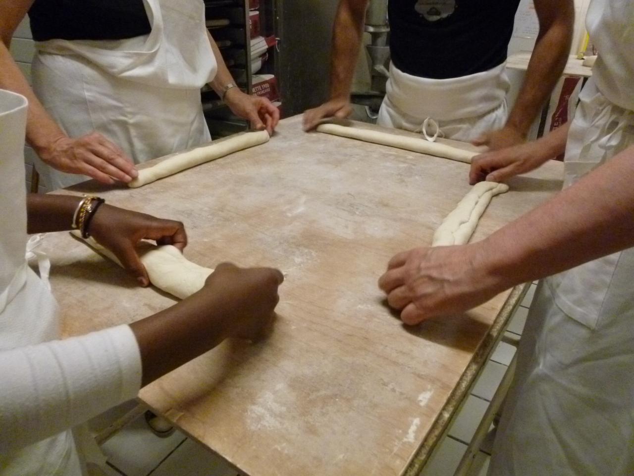 Atelier boulang' la main à la pâte