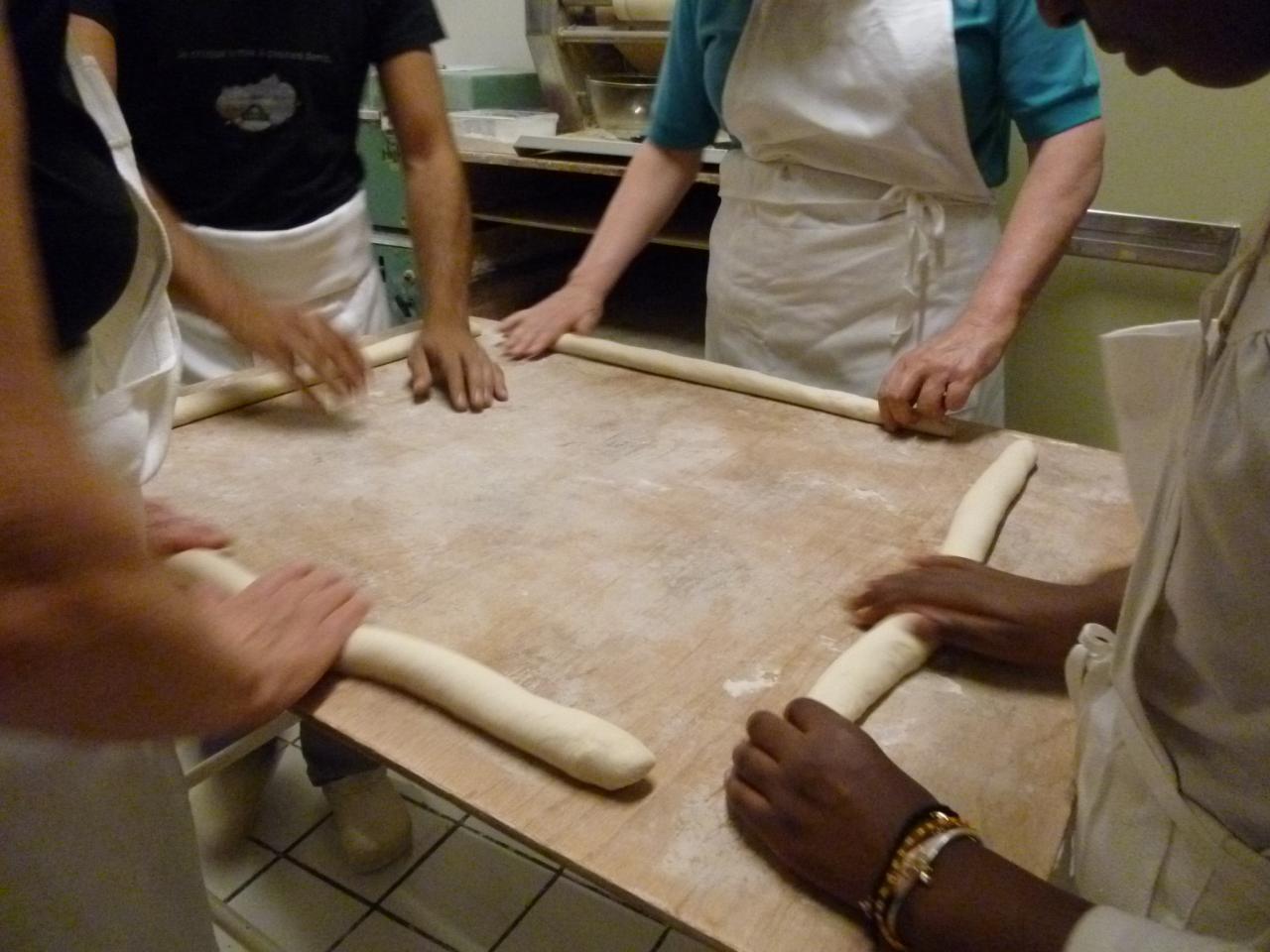 Atelier boulangerie avec Sofiane à Maisons-Laffitte 08/08/2014
