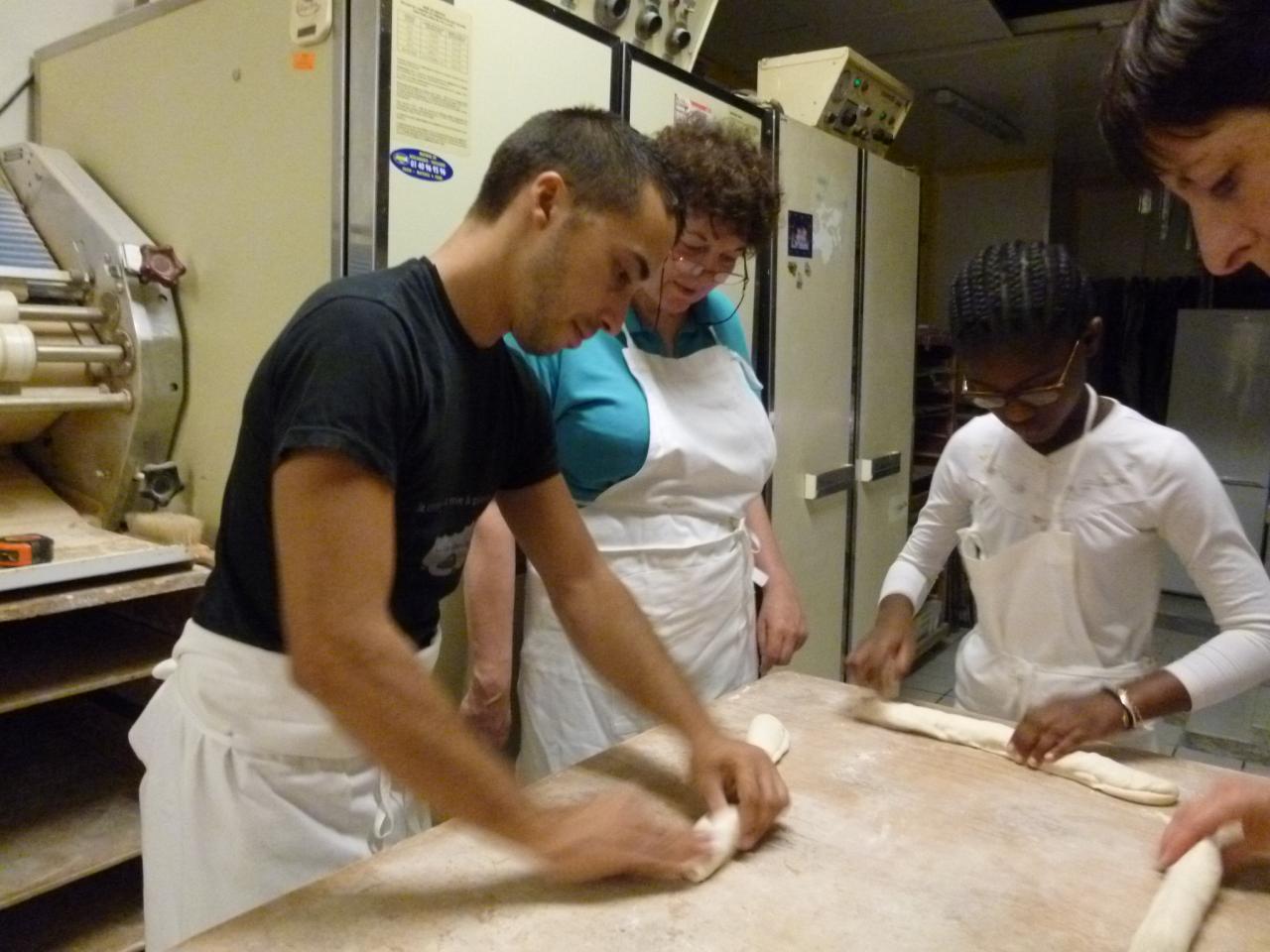Atelier boulang' la baguette se forme