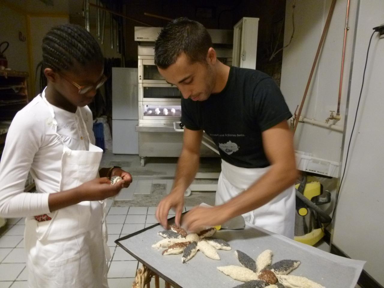 Atelier boulang' finitions des marguerites
