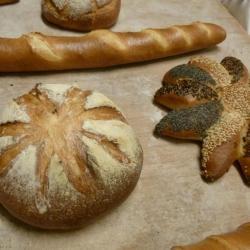 Atelier boulang' pain, baguette et marguerite