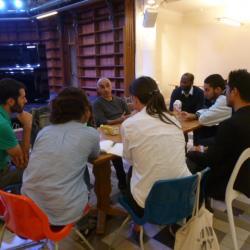 Echange, discussion, partage avec Lakdar