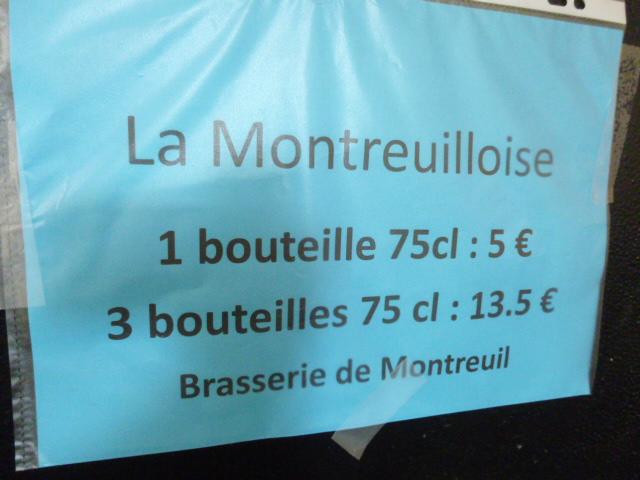RDV à la Montreuilloise vendredi de 17h à 19h30 et samedi de 10h à 12h