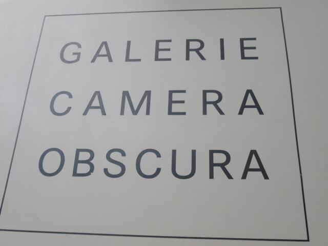 Visite de la galerie Camera Obscura sur le Bd Raspail