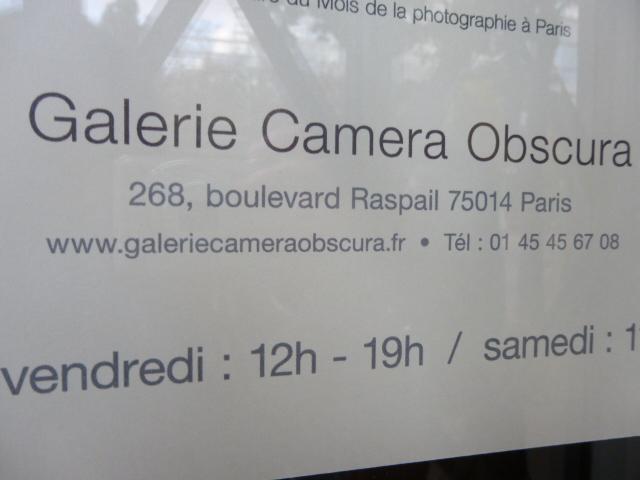 Une des étapes du parcours: la galerie photo Camera Obscura
