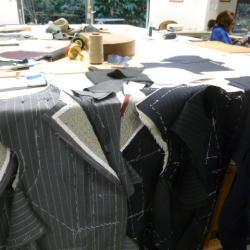 Réalisation en cours d'un tailleur