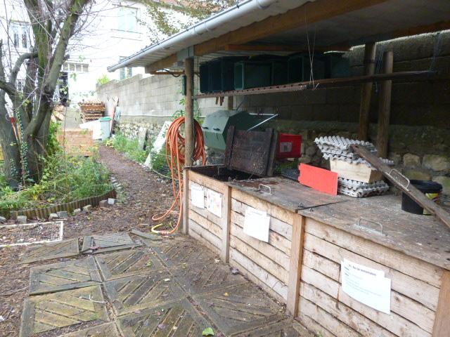 Jardin participatif de l'association J'aime le Vert