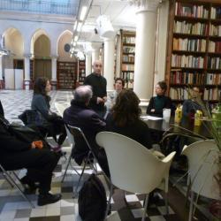Echanges et discussions avec Lakdar, entre curieux et passionnés