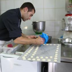 Démonstration de Jean-Christophe, pâtissier