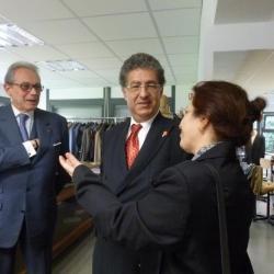 Discussion avec des tailleurs