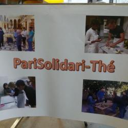 Photos des activités de PariSolidari-Thé