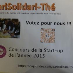 Affiche pour le concours Start Up 2015