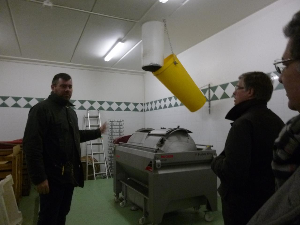 Fabrication du vin de Suresnes
