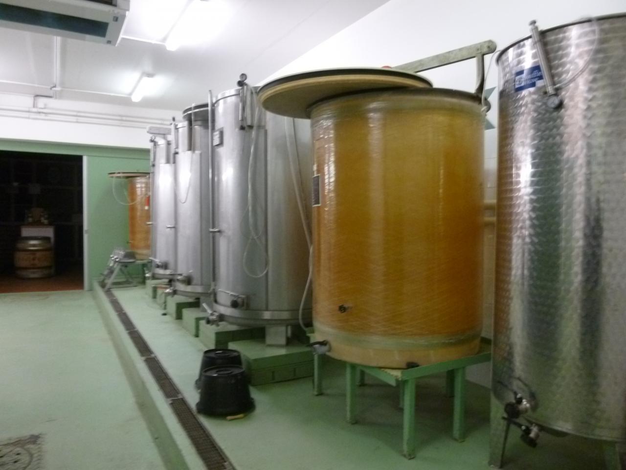 Vinification du vin de Suresnes