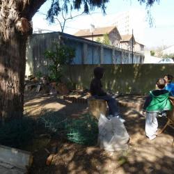 Les enfants au jardin !