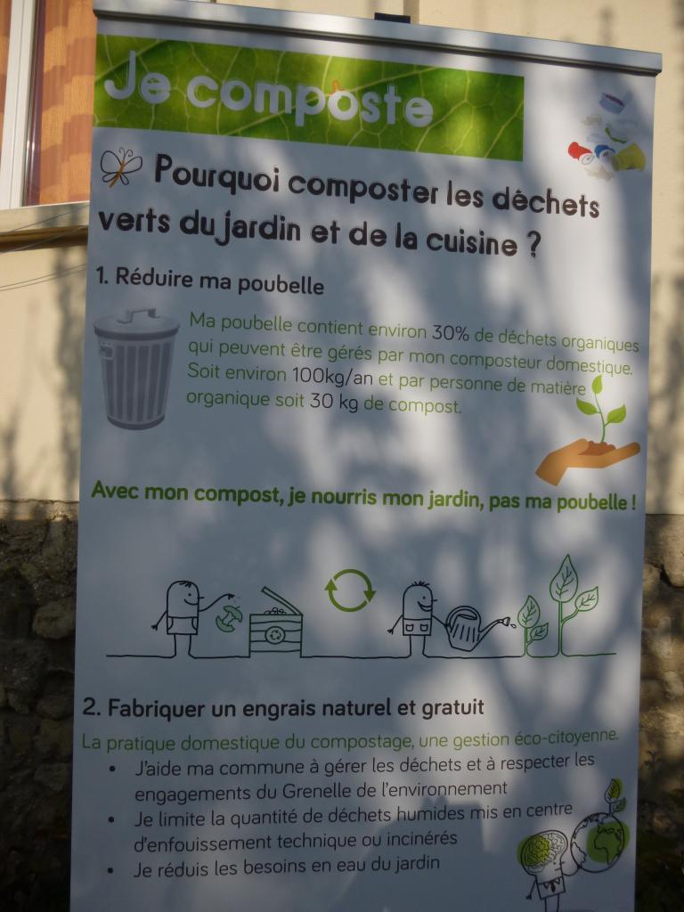 Le compostage qu'est-ce que c'est... ?